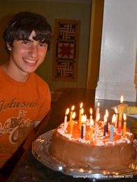 Happy Birthday Nicolas - 16!
