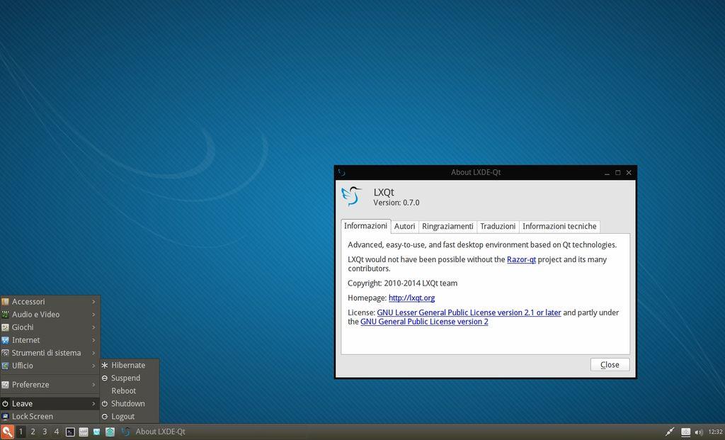 LXQt in Manjaro Linux