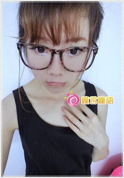 日本KRIAKRIA隱形眼鏡-Sweety Eye 糖果巧克力14