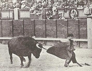 1914-05-02 Madrid Joselito cambio rodillas 001