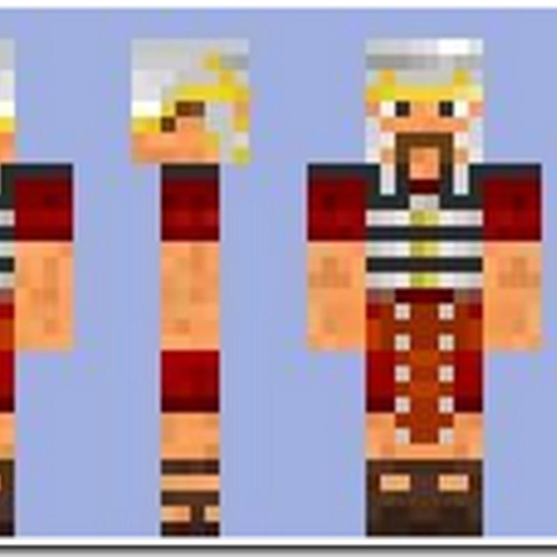 Minecraft 1.2.5 - Roman Armored Legionnaire skins