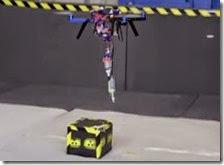 Drone con stampante 3D