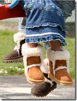 Celtic Sheepskin Mini Sheepskin Boots