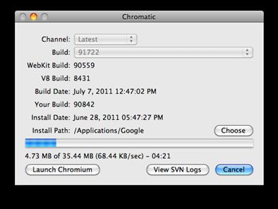 Chromium Auto Updater Tool