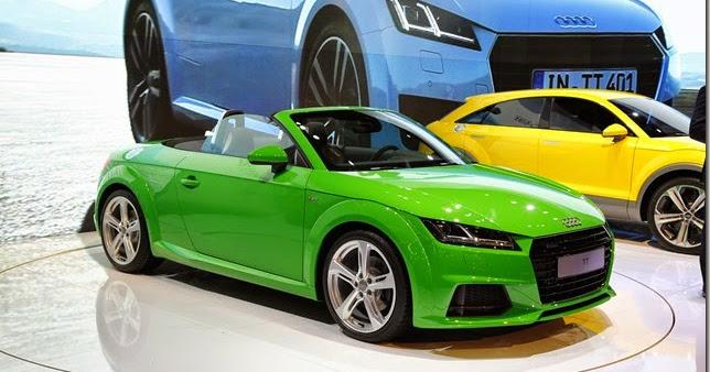Salão de São Paulo – Audi apresenta novo TT