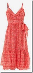 Diane von Furstenberg Frilled Wrap Summer Dress