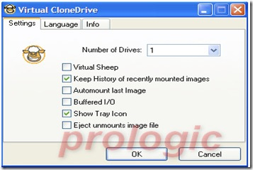 VirtualCloneDrive - prologic