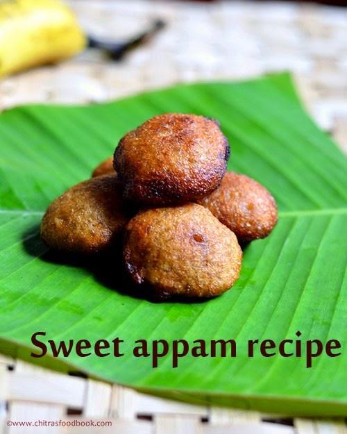 sweet appam recipe using wheat flour