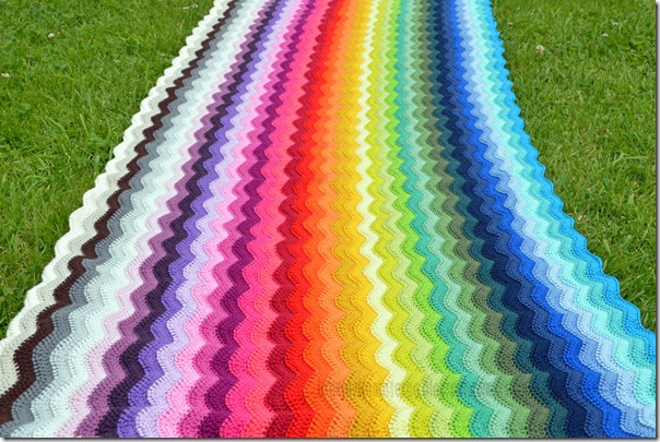 Ripple Blanket #2 1st Color Part Finish (3)