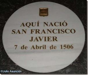 Lugar de nacimiento de San Francisco Javier