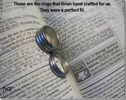 hand crafted wedding bands