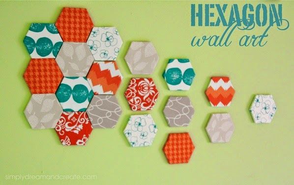 1_Hexagon Wall Art