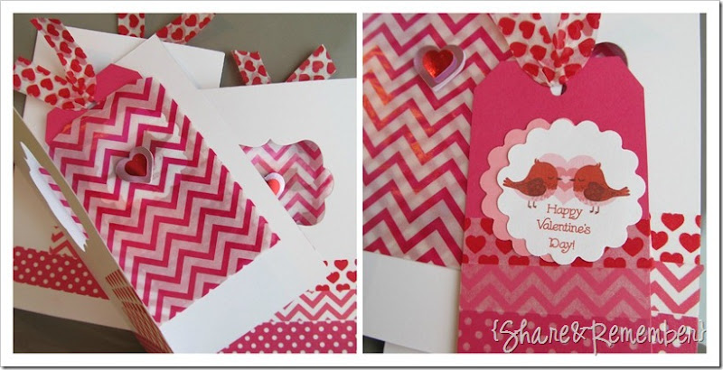 washi tape valentine cards 2