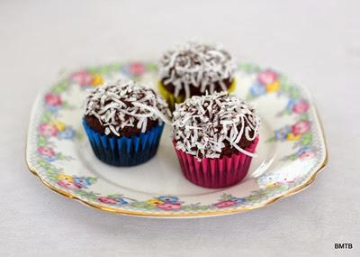 Mini Chocolate Coconut Cupcakes (1)