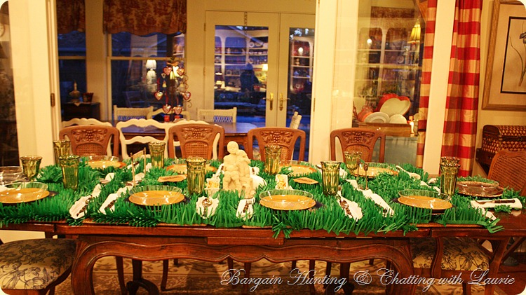 Super Bowl Tablescape