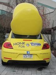 Peeps car back