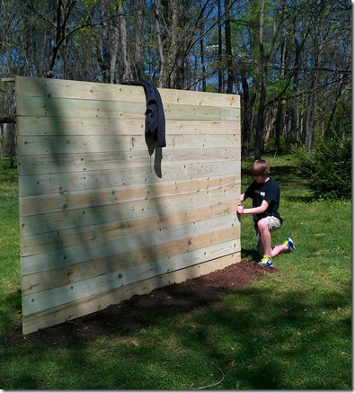 Raise Them Up: DIY Soccer Wall/Goal For