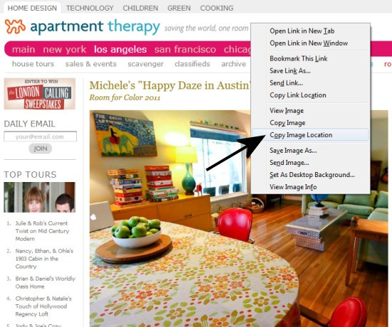 bandwidth--apartment therapy screen shot 2