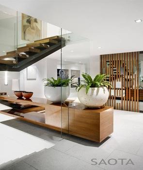 diseño de escaleras casa nettleton 199 saota