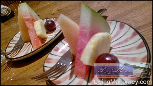 Senju: fresh fruits