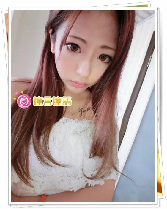 韓國GEO隱形眼鏡-冰漾甜心咖(廣瀨麻伊代言)10