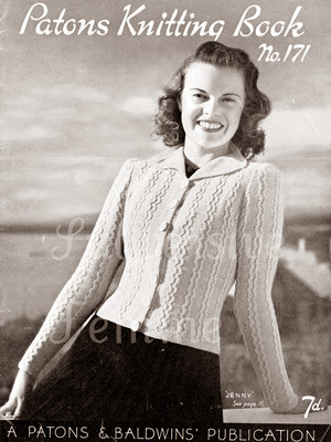 Lavender Twill 1940s Style Knitting Patterns Free Downloads