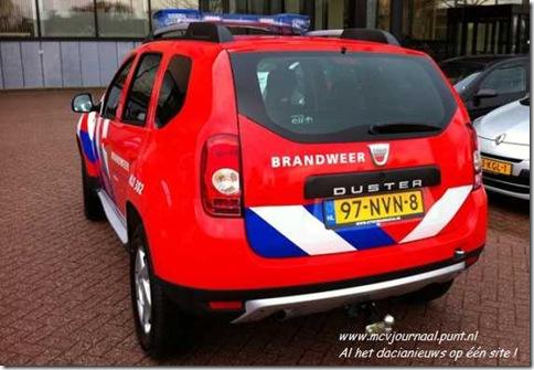 Dacia Duster als brandweer 03
