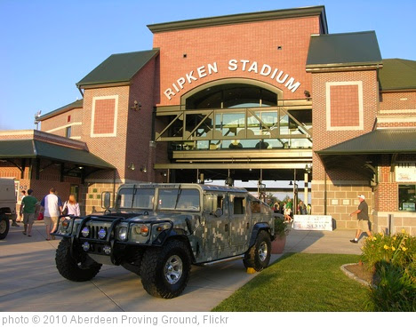 'Ripken Stadium appreciates the military' photo (c) 2010, Aberdeen Proving Ground - license: https://creativecommons.org/licenses/by/2.0/