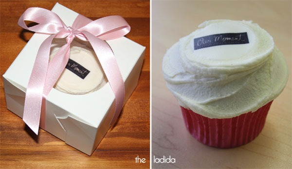One Direction - Our Moment Perfume Launch - Sydney - Cupcake Gift