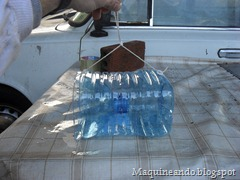 Trampa casera peces botella