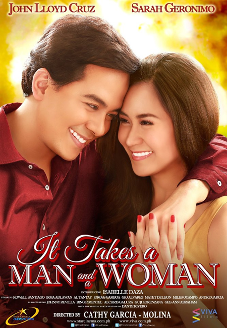 It Takes A Man And A Woman - movie poster