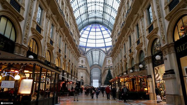 gorgeous mall in Milan - Galleria Vittorio Emanuele II in Milan, Milano, Italy
