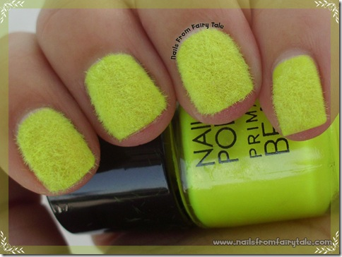neon yellow flocking powder 5