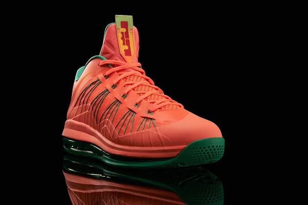 Release Reminder Nike LeBron X Bright Mango aka Watermelon