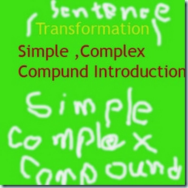 Sentence Simple Complex Compound