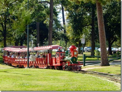 Hermann Park Mini-Train