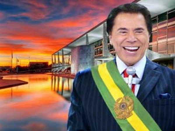 6- Silvio já foi candidato à Presidência da República