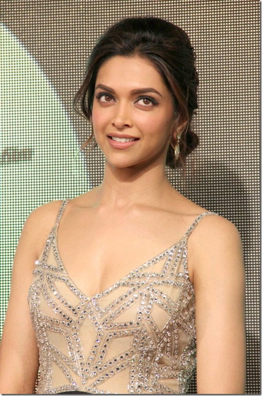 Actress Deepika Padukone at Chennai Express Audio Release Stills