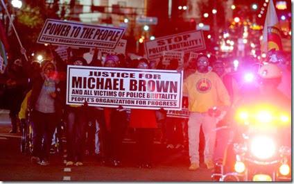 Justicia por Brown - New Jersey