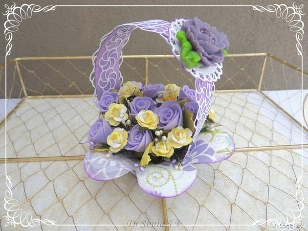 Flower Basket tutorial 8