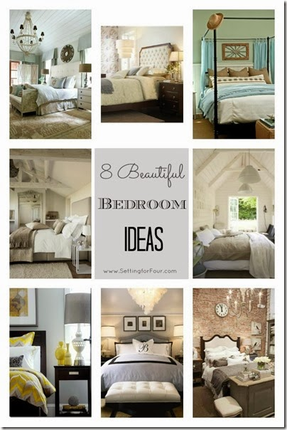 8 Beautiful Bedroom Ideas from Setting for Four
