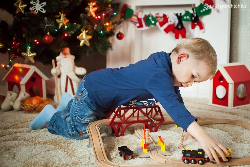 Детский новогодний фотопроект Рождественские мечты. 15. Матвей-9154