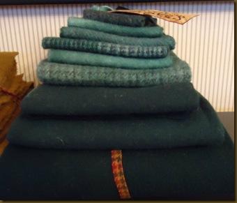 Teal Wool