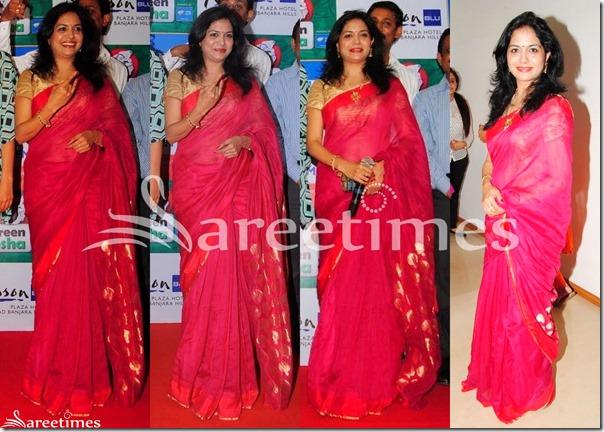 Sunitha_Pink_Saree