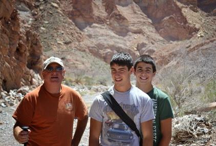 Enjoying the amzing hike!