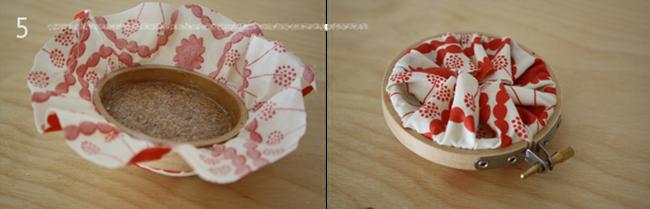 embroidery hoop pin cushion 5