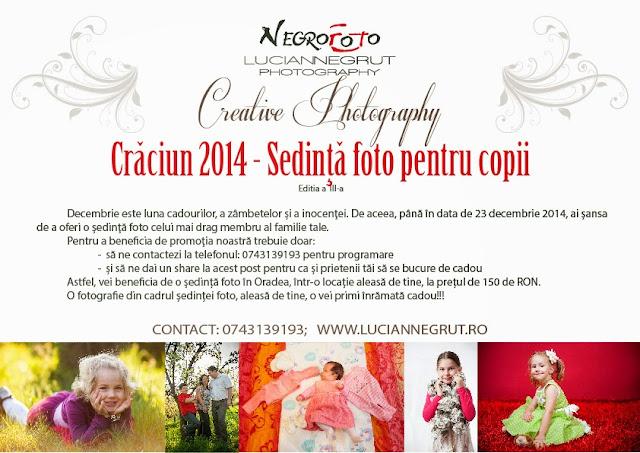 Cadou de Craciun 2014 - Sedinta foto pentru copii
