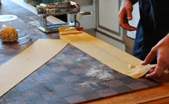 Making pasta with Einkorn