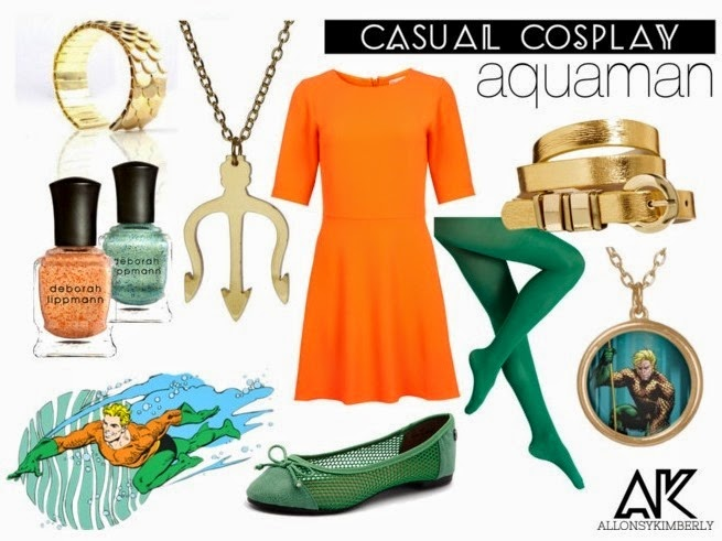 Casual Cosplay: Aquaman | allonsykimberly.com