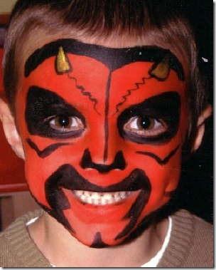 diablo o demonio para niño. p\u0026gt; maquillaje de demonio traototruco (5)